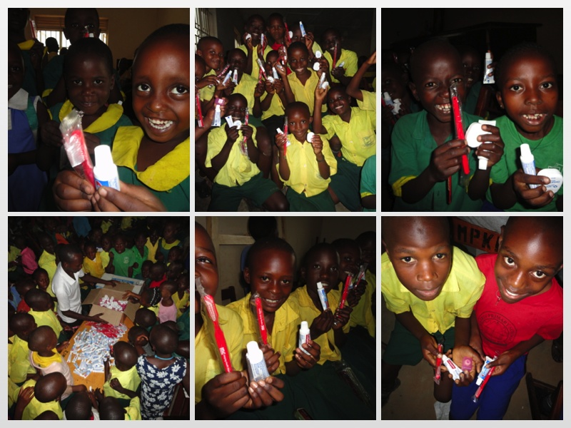 MPK receives new supplies collage