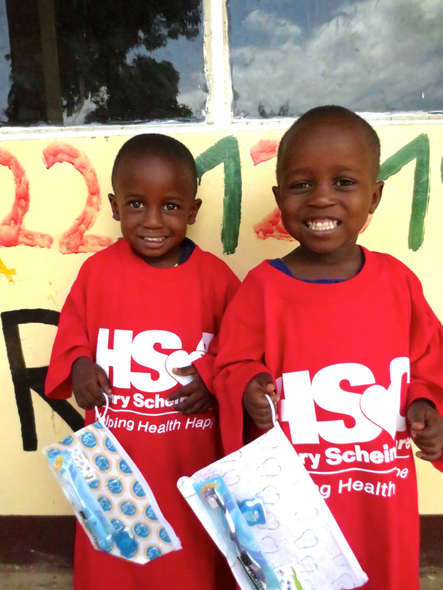 A big THANK YOU to the Henry Schein Cares Foundation for donating supplies.